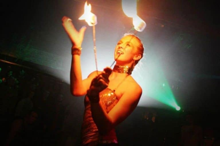 Interview with a Fire Swallower: Meet Navutu's Sammy Sunshyne