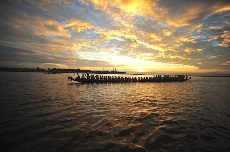Picnics & Boat Races at Cambodia's Water Festival