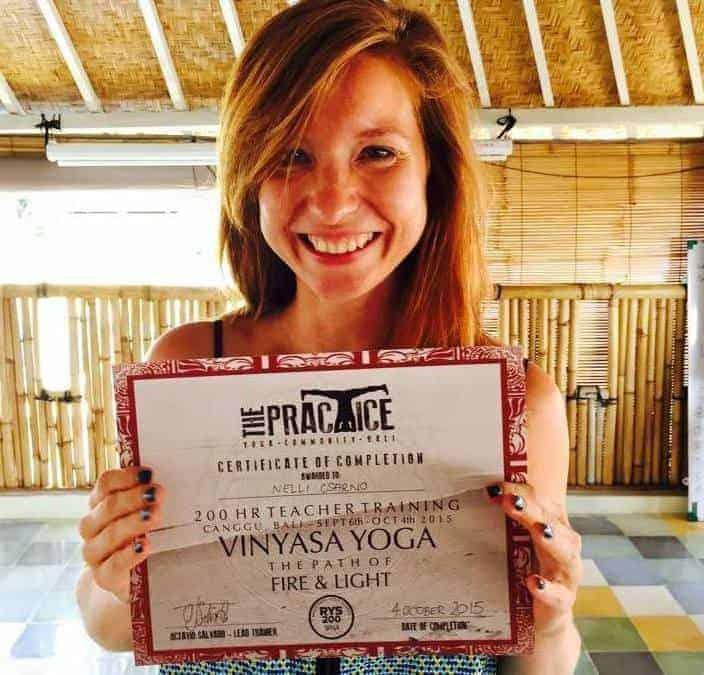 Meet Nelli, Navutu Dreams' New Yoga Instructor