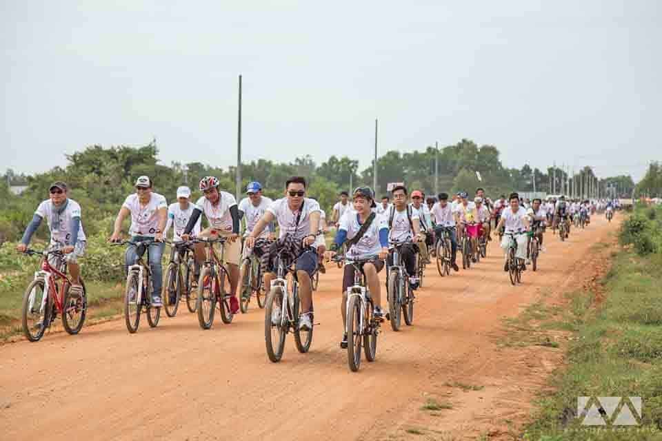 Navutu Dreams Joins Cycling Event for Environment and Children's Health 2016