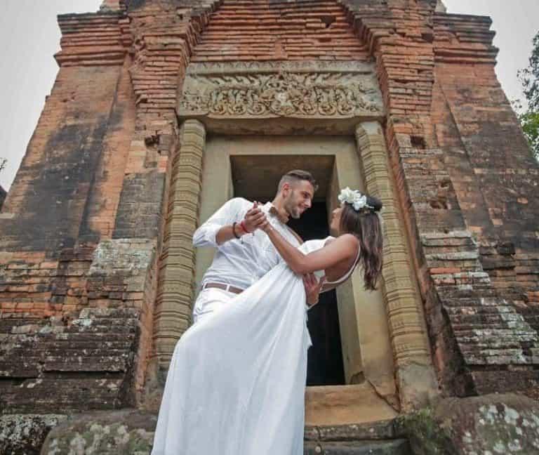 Renewal of Vows in Angkor: Pierre & Sophie