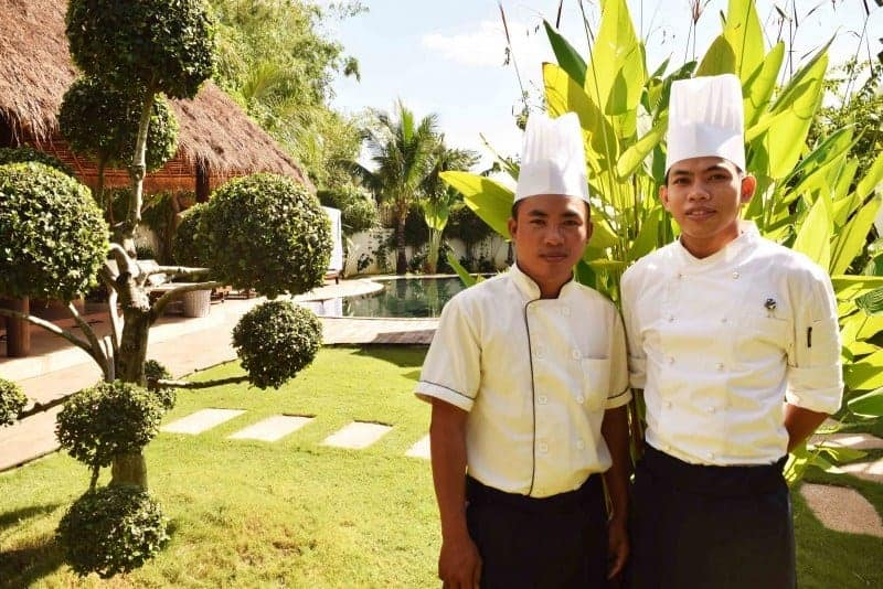 Navutu Dreams Culinary Team Competes at the Cambodia Hospitality Competitions 2016