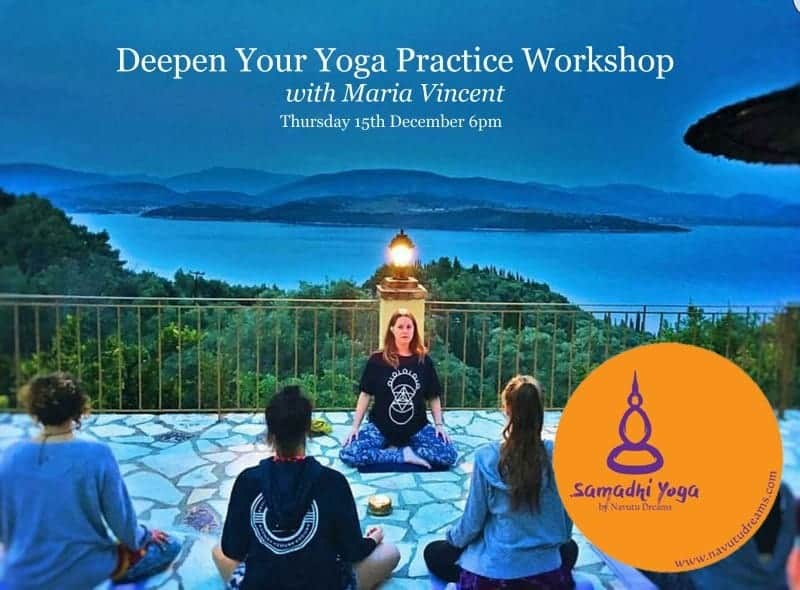 Deepen Your Yoga Practice Workshop with Maria Vincent   5 Areas to Advance Your Practice