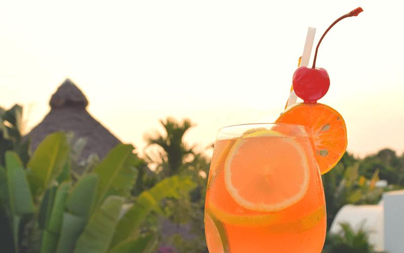 Sangrias at Sunset: The Sunset Hour at Navutu Dreams
