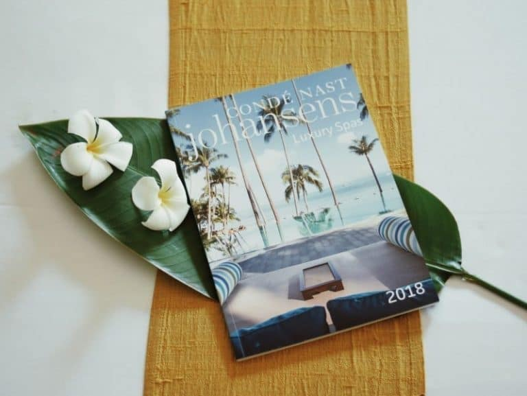 Luxury Spas: 2018 Condé Nast Johansens' Global Collection | Navutu Dreams