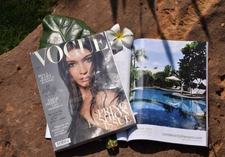 Navutu Dreams Resort in Vogue Magazine London & Tatler UK