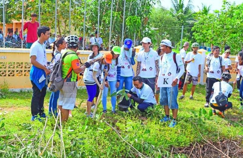 Cycling Event Siem Reap