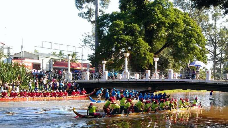 Water Festival in Siem Reap