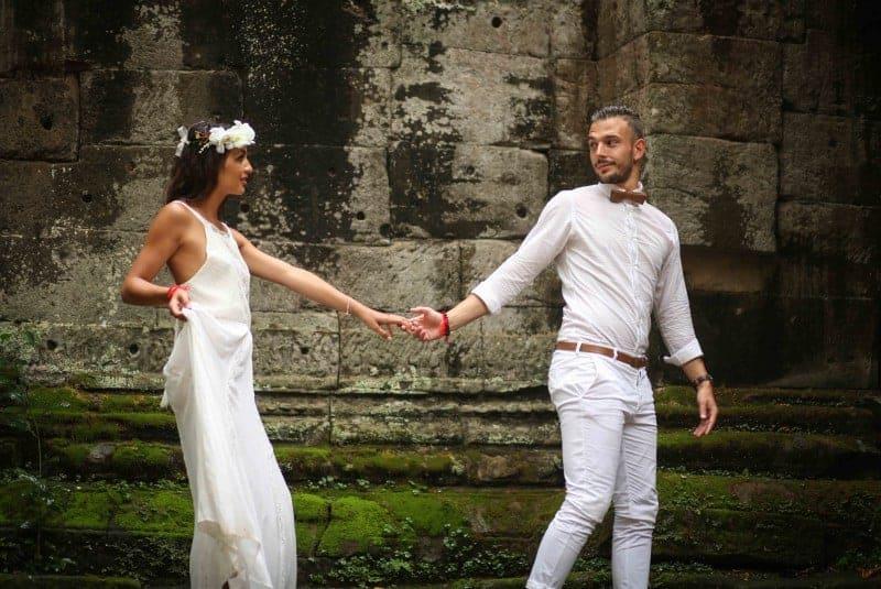 Renewal of Vows in Angkor - Siem Reap Weddings