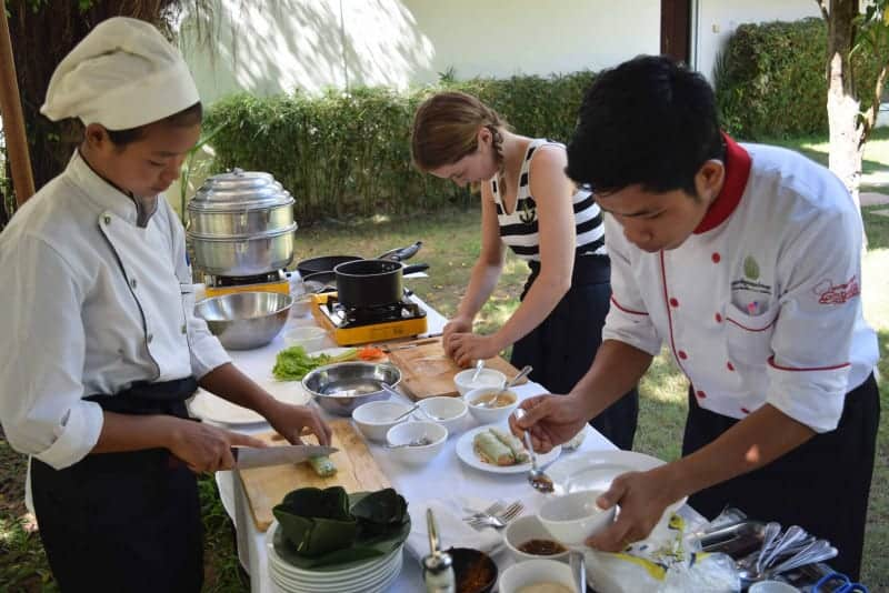 Solo travel - Siem Reap Cooking Class