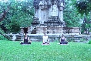 3 Pranayama Meditation at the Temple - Wellness Angkor Wat