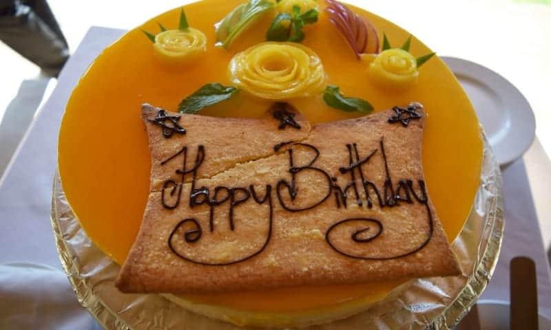 Staff birthday celebration