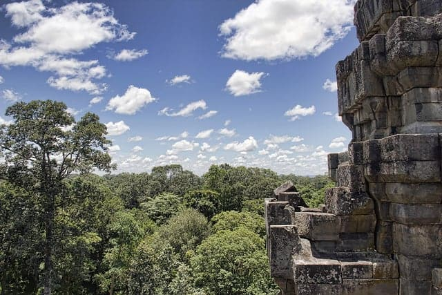 View from the top | Ta Keo Temple