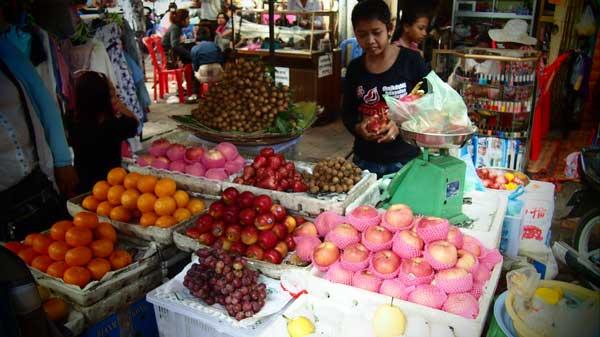Seasonal Fruits in Siem Reap Cambodia