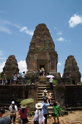 Top of the East Mebon