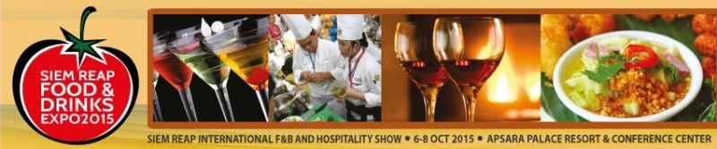 Siem Reap Food and Drinks Expo 2015