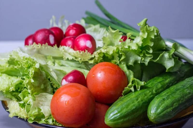 Khmer Food - Fresh Vegetables