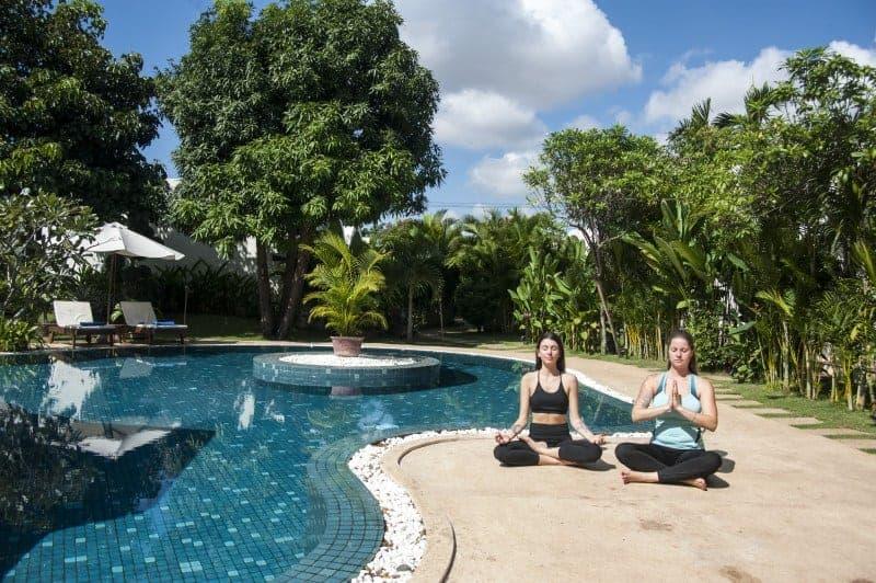 Hosting Yoga Retreats in Siem Reap, Cambodia - Samadhi Yogashala & Wellness Center