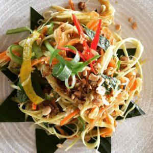 Khmer Food - Cambodian Mango Salad