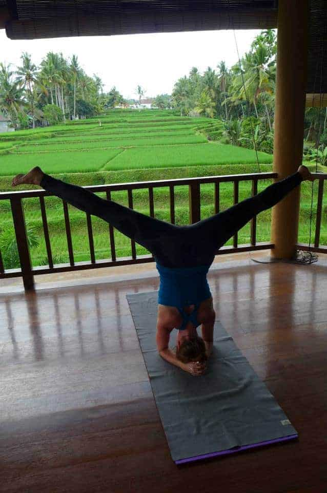Navutu Dreams' New Yoga Instructor