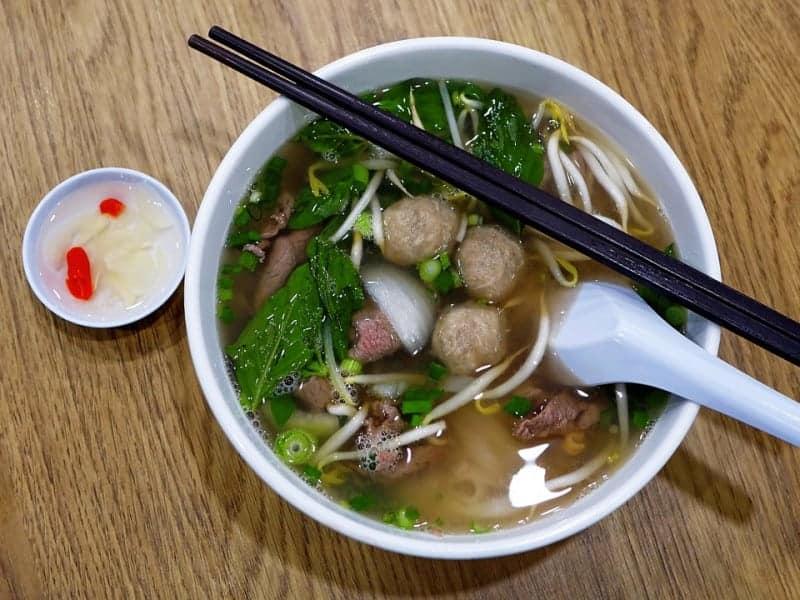 Khmer Food - Khmer Noodle Soup