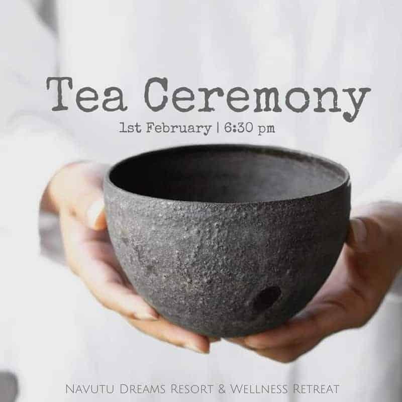 Tea Ceremony at Navutu Dreams Resort Siem Reap