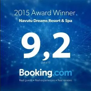 Booking.com 2015 Award of Excellence