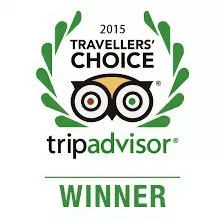 TripAdvisor 2015 Travellers' Choice Award