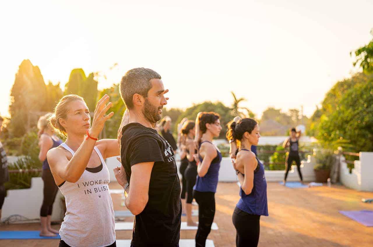 Navutu Outdoor yoga