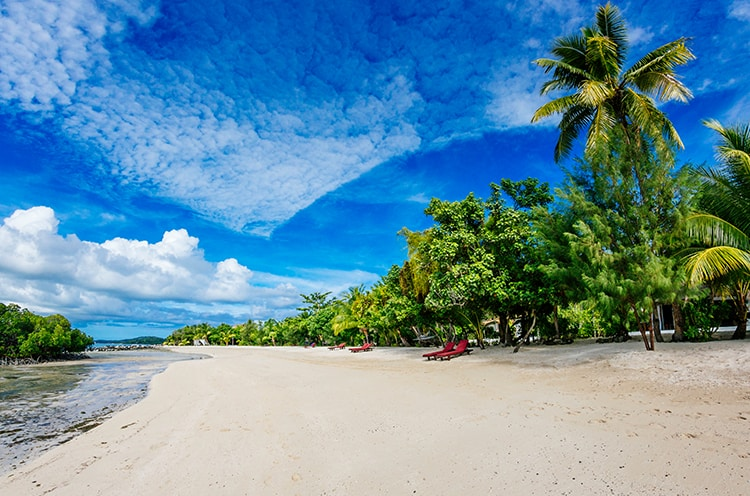 Beach Front Bure