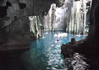 Sawa I Lau Caves
